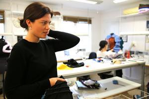 Alla jobbade intensivt med sina uppdrag Lars givit dem, att skapa volym. Det gjorde också Sofia Ericsson.