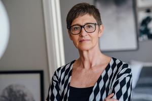 Marie Holmqvist blir Västerås Stadsbibliotekarie. Foto: Elias Berglund