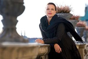 Sopranen Malin Hartelius sjunger i Pingstkyrkan på lördag. Foto: Alexander Kenney