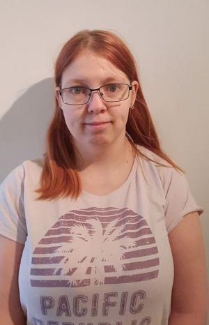 Denise Pettersson hade covid-19 och fick ganska milda symptom. Hon beskriver det som lite feber, ont i hela kroppen och att luktsinnet försvann. Foto: Privat