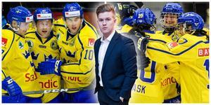 Mittmedias hockeyredaktör Adam Johansson följer Tre Kronor och Damkronorna under OS. Foto: Bildbyrån.