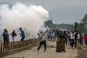 Konflikten i Kashmir har pågått i nästan 70 år. Arkivbild. Foto: Dar Yasin AP/TT