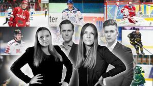 Jennifer Engström, Jacob Sjölin, Elin Bergvik Eriksson och Adam Johansson har sammanställt listan med Hockeyallsvenskans 50 bästa spelare.