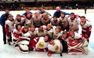 Hedemora SK:s 98-pojkar vann Lidström cup i januari 2011.