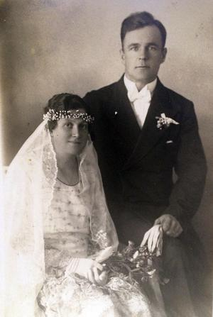 John Albert Milton Pettersson och hustrun Maria Teresia. Bild: Privat