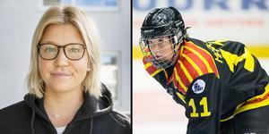 I somras meddelade Caroline Markström att hon skulle lägga skridskorna på hyllan. Sviterna efter en hjärnskakning i september ifjol gör att hon inte vill riskera något.