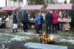 Klingstagårdens julmarknad.