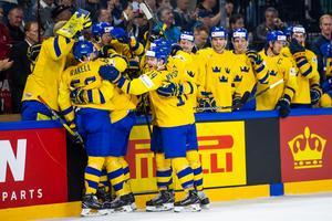 Sverige är världsmästare i ishockey för andra året i rad. Foto: Petter Arvidson / Bildbyrån