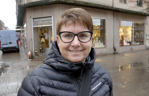 Monica Hennström, 55, civilanställd hos polisen, Sundsvall: