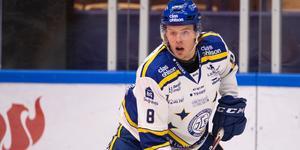 Filip Johansson, back, Leksand. Foto: Daniel Eriksson/Bildbyrån.