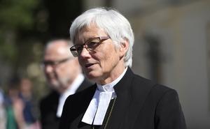 Ärkebiskop Antje Jackelén. Foto: Henrik Montgomery / TT