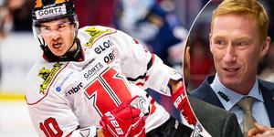 Shane Harper gjorde två mål, Örebro vann med 5–2 på bortais, men Jörgen Jönsson tycker att det finns mer att hämta. I sig ett styrkebevis. Bild: Bildbyrån