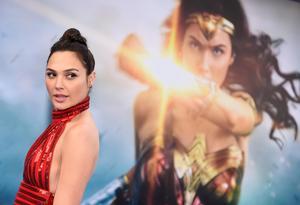 Gal Gadot gör succé som Wonder Woman i juni. Arkivbild