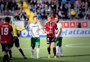 Douglas Bergqvist gjorde sig snabbt ovän med Hammarby.