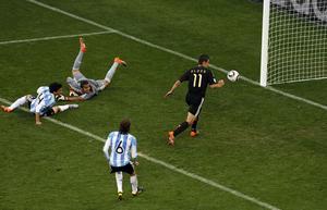 Klose gjorde två mål i Tysklands storseger.