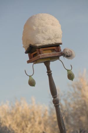 Ett vackert hem, en vacker vinterdag i Krokom!