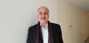 Edward Isteifo är vice ordförande i S:t Jacob syrisk-ortodoxa församling och berättar att cirka 40 procent av de aktiva ungdomarna i kyrkan kan räknas bland de nyanlända från Syrien.