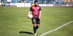 Andre Garabet gjorde ett av Kungsörs mål i förlusten mot IFK Ölme.