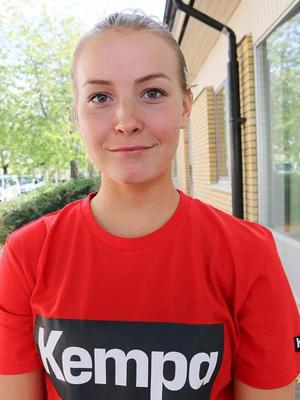 Amanda Lövgren hoppas nå landslaget en dag, och att Sverigecupen kan vara en chans att få visa upp sig.