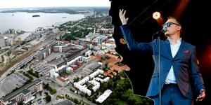 Montage. Foto vänster: Tony Persson. Foto höger: Josefin Karlsson.