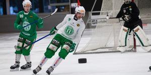 Robin Andersson är redo för sitt första SM-slutspel. På tisdagen väntar kvartsfinalmöte nummer ett mot Vänersborg.