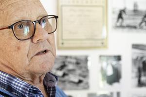 Olle Hildingsson blev journalist i vuxna år, men med fokus på motorer.