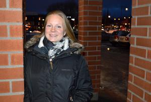 Anna Hane Karlsson, enhetschef för kost- och lokalservice, jobbar för mindre matavfall i kommunens skolor.