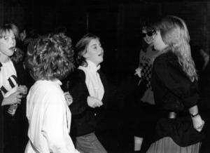 Disco på skolavslutning i Gällö 1987.