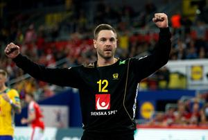 Andras Palicka blev stor matchvinnare för Sverige i semifinalen mot Danmark.
