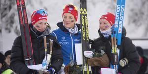 Ida Dahl, Ida Lindkvist och Anna Dyvik.
