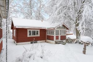 På femte plats hittar vi detta fritidshus i Gärdebyn i Rättviks kommun. Foto: Eric Böwes