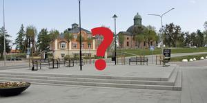 Hur ska nya Drottningtorget smyckas? Kommunen vill beställa ett konstverk till platsen i centrala Kungsör.