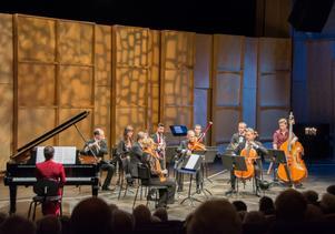 Nordiska Kammarensemblen formar en nätt liten salongsorkester. En önskekonsert inför jul är ett smart grepp - den passar in i julen utan en enda julsång.