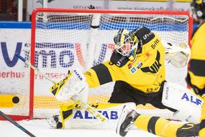 Emil Kruse vaktar målet mot Tingsryd.