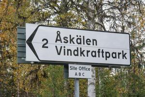 Åskälens vindkraftpark (Åskälen-Österåsen), är belägen sydväst om Hammerdal på gränsen mellan Strömsunds och Östersunds kommuner.