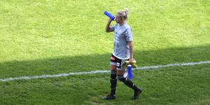 Olivia Palmquist gjorde comeback i Rimbomålet mot Enköping.