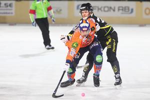 Det blev en kämpig hemmamatch för Christoffer Fagerström och Bollnäs.