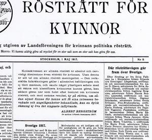 För hundra år sedan pågick rösträttskampen och en rad föreningar bildades i Jämtland och Härjedalen. #Metoo-rörelsen 2017 är en liknande revolution.