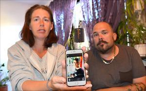 Angelica Johansson och sambon Andreas vill bara ha Nathalie tillbaka.