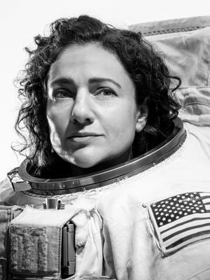 Svenskamerikanska astronauten Jessica Meir. Foto: Josh Valcarcel
