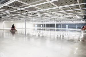 Under september börjar personalen på Eko att bygga upp butiken.