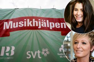 Galan skulle dra in pengar till Musikhjälpen, Samantha Forslund (överst i bild) stod bakom initiativet och Jessica Falk skulle ha uppträtt på evenemanget som nu är inställt.