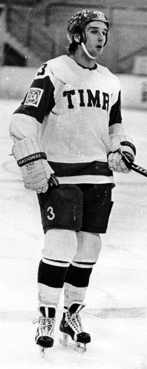 Tommy Andersson under sin tid som spelare i Timrå IK.