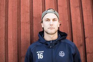 Daniel Gunnarsson har klättrat till femteplats i Hockeyallsvenskans poängliga för backar.