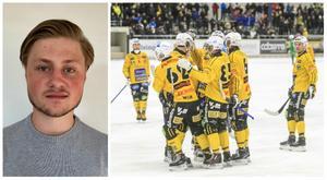 Hampus Lindén (till vänster) är Brobergs enda nyförvärv den här säsongen. Foto: Brobergs IF, Lars Edling