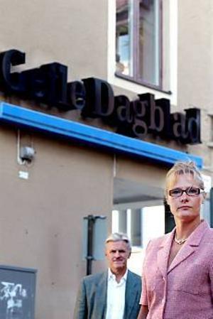 Lena Munkhammar, som avgick som sjukhusdirektör i påskas, ersätter Jan Cahling som verkställande direktör för GävleTidningar AB. Foto: Gun Wigh