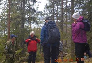 Guiden Leif Berglund, Anki, Börje och Marianne