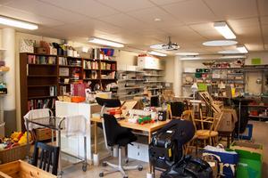 Det här är lokalen som ska användas till olika verksamheter, kurser och språkträning.