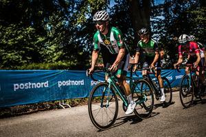 Emil Lindgren hade en lyckad långhelg i Stockholm. Foto: Niklas Wallner, Svenska cykelförbundet