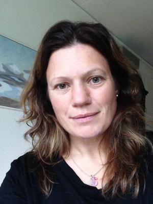 Sandra Landén är tillförordnad vd på Bruksvallarna Ramundberget Fjäll AB. Foto: Privat